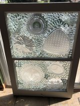 window up cycled into stain glass in Naperville, Illinois