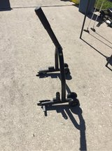 Motorcycle stand in Spring, Texas