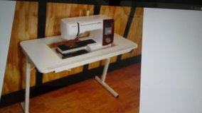 Sewing table made by Arrow like new in Camp Lejeune, North Carolina