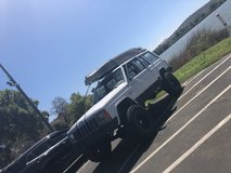 Jeep XJ in San Clemente, California