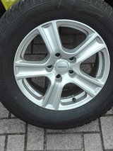 Winter Tires- Set of 4 Dunlop Winter Tires w/ Alu Rims 235/60/R16 in Ramstein, Germany