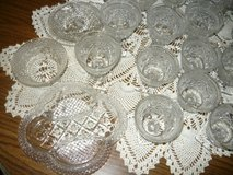 108 pcs Wexford Glass Ware in Fort Campbell, Kentucky