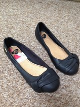 size 3 black gold digger shoes, new in Lakenheath, UK