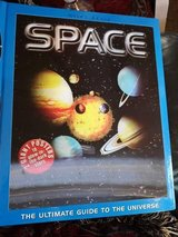 space book with posters and glow in the dark stars. in Lakenheath, UK