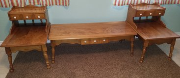 Coffee Table & 2 End Tables in Barstow, California