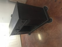 Dark wood dining buffet / tv stand in Fort Polk, Louisiana