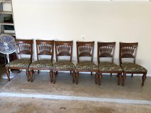 Dining room chairs in The Woodlands, Texas