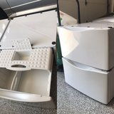 Laundry Pedestal Drawers (2) in Naperville, Illinois