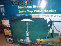 Propane table heater in Alamogordo, New Mexico