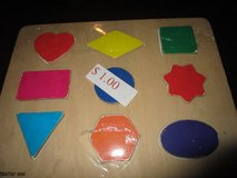 WOODEN SHAPES PUZZLE in Lockport, Illinois
