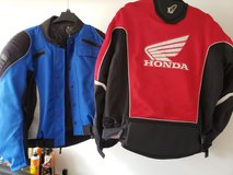 Motorcycle Jackets: 1 Red/1Blue in Spring, Texas