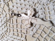 image 0 image 1 ??zoom Cross White Howlite Double Sided Serpentine Chain NEW in Kingwood, Texas