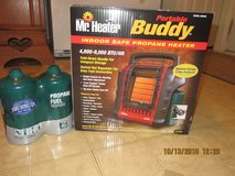Mr. Heater F232000 MH9BX Buddy 4,000-9,000-BTU Indoor-Safe Portable Radiant in Naperville, Illinois