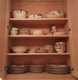 Franciscan 70 pc Pink Desert Rose Dishes and Serving Pieces in Camp Lejeune, North Carolina