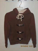 Old Navy, Milk Chocolate, Soft, Zippered, Fleece Lined Hood,Jacket Women's Small in Lockport, Illinois