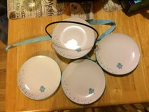 Set of 4 cute plates in Spring, Texas