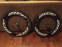 Zipp Carbon Clincher race day wheelset in Okinawa, Japan