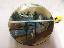 # 1*DECORATIVE PLATE ARTISAN HAND MADE!VINTAGE! in Okinawa, Japan