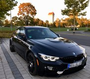 2018 BMW ///M3 Competition (U.S. Specs) in Ramstein, Germany