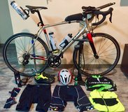 58cm Road Bike and bike essentials - Specialized frame, Shimano 105 components in Okinawa, Japan