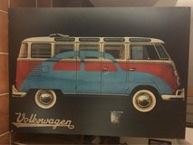 VW Bus/Bug 4'x3' Wood Photo in Stuttgart, GE