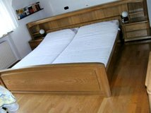 Complete set of king size bed in Ramstein, Germany