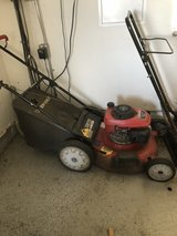 Lawnmower in Oceanside, California