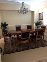 Seven piece dining room set in Camp Pendleton, California