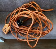 220V HEAVY DUTY OUT OR INDOORS EXTENSION CORD, 36 FEET LONG in Lakenheath, UK