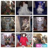 Porcelain doll collection in Lawton, Oklahoma