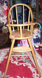 Wood Doll High 2 Ft Chair with Precious Hugs in Alamogordo, New Mexico