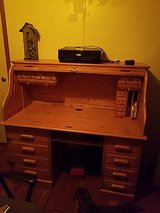 Oak roll top desk in Fort Leonard Wood, Missouri