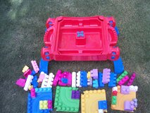 New Mega Blok Table with Mega Blocks in Alamogordo, New Mexico
