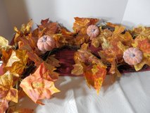 Leaf and Pumpkin Garland in Naperville, Illinois