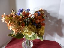 Vase of Fall Flowers in Naperville, Illinois