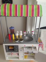 American Girl Campus Snack Cart Ice Cream Hot Dog Fries School Truly Me in Naperville, Illinois