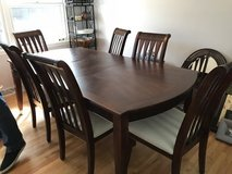 Formal Dining Room Table with Chairs in St. Charles, Illinois
