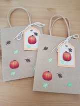 ALL NEW, 3 Fall Paper Bags Handmade 4.5 x 5.5 in. in Ramstein, Germany