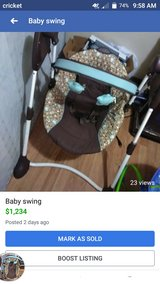 Baby swing in Leesville, Louisiana