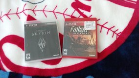 PS3 Games: Fallout New Vegas - Ultimate Edition / Skyrim in Fort Irwin, California