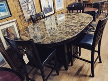 pub table with 4 chairs in Camp Lejeune, North Carolina