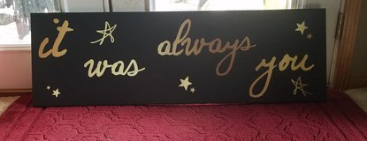 Canvas decor in Fort Leonard Wood, Missouri