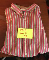 POLO- Men's Long Sleeve Size L in Warner Robins, Georgia