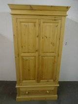 Solid pine wardrobes with drawers x 2 in Lakenheath, UK