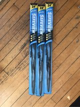"""Three 24"""" windshield wipers in Chicago, Illinois"""