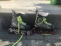 Boy's Bauer XR1 Inline Hockey Skates in Wiesbaden, GE