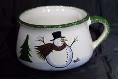Christmas cup, snowman, hot cocoa, Christmas tree plates in Phoenix, Arizona