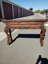 Qing Dynasty Censor Table in Vacaville, California