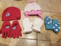 Hats and gloves in Plainfield, Illinois