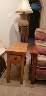 Wood Side Table in Alamogordo, New Mexico
